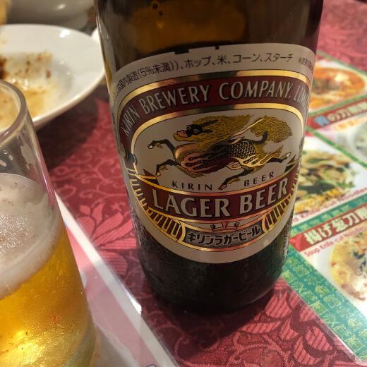 富筵 瓶ビール