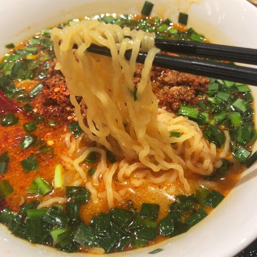 大辛赤担々麺