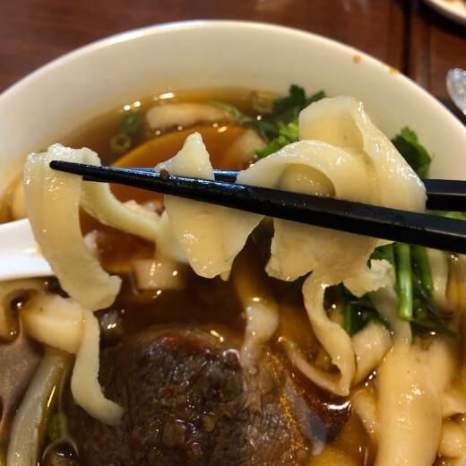 一品閣 刀削麺