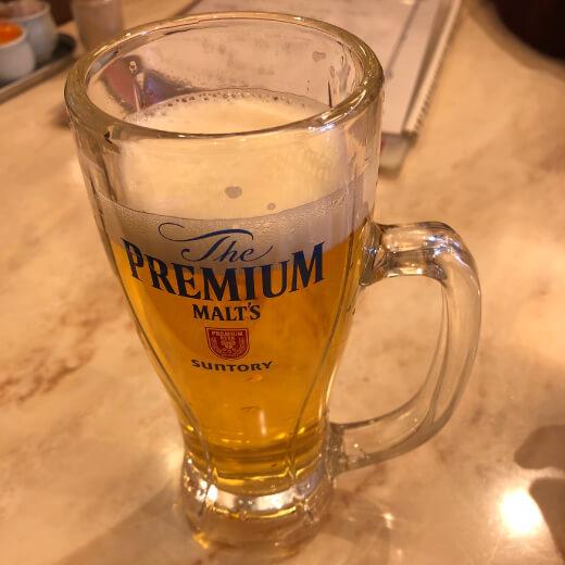 華錦飯店 ビール