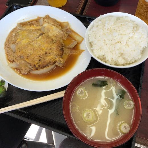 大桟橋食堂カツ煮定食