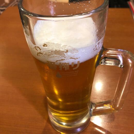 梅林閣 ビール