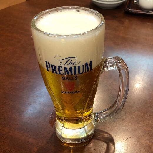 天香樓 ビール