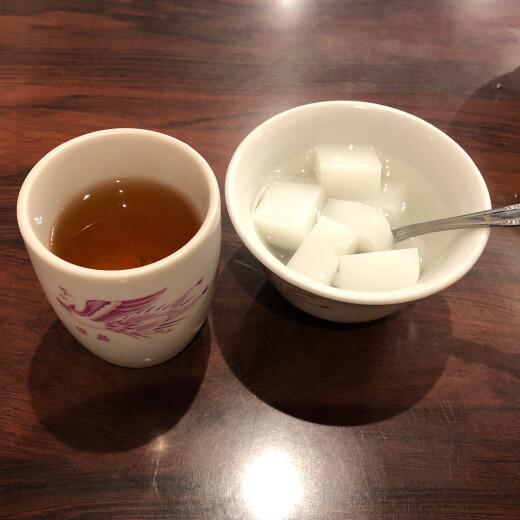 保昌 デザート・食後のお茶