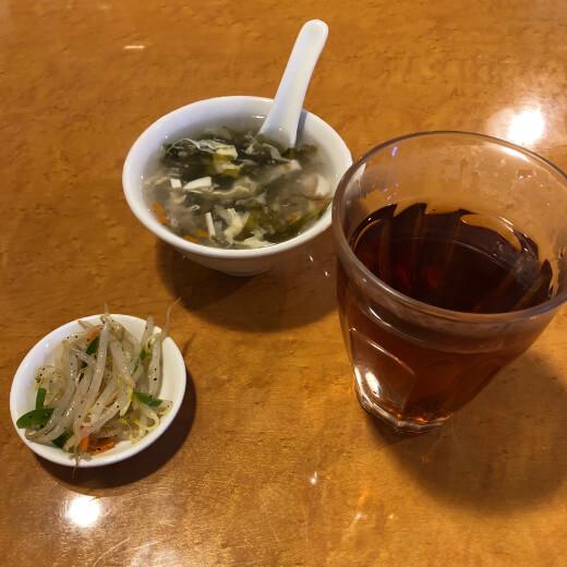 東珍味 ウーロン茶