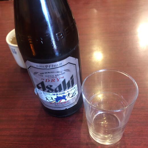 龍城飯店 ビール