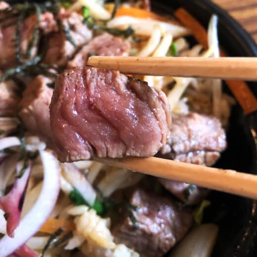 ブフドール 肉の焼き加減