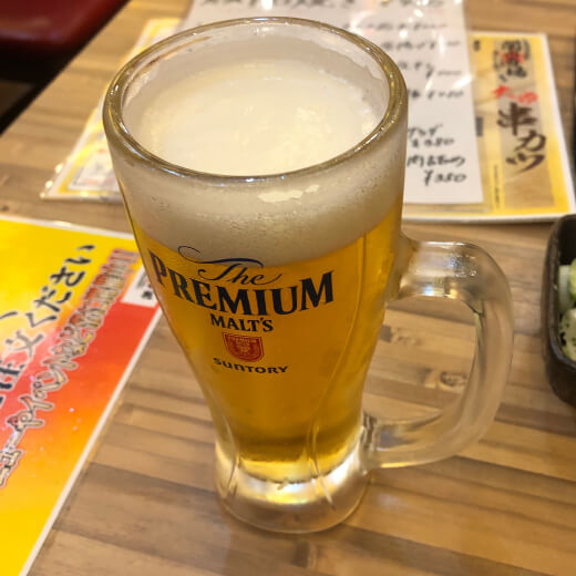関内酒場 生ビール