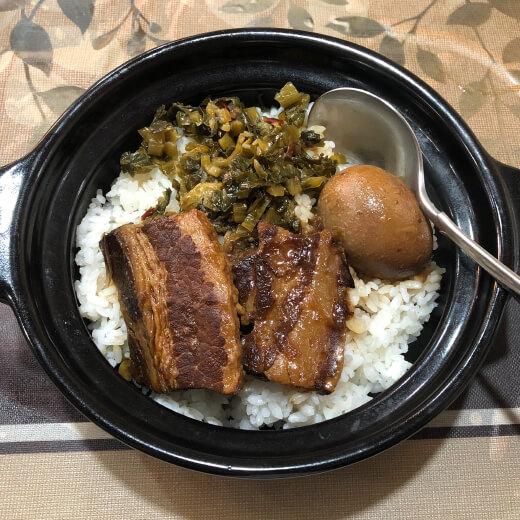 新錦江 ルーロー飯