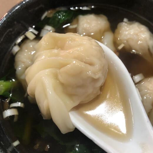新錦江 ワンタンスープ