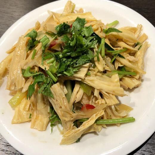 台湾美食 湯葉