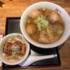 坂内 ラーメンとミニ炙り焼豚丼