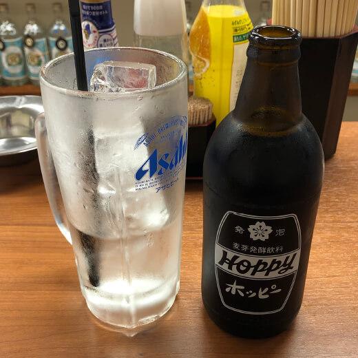 和来 伊勢佐木町店 ホッピーセット黒
