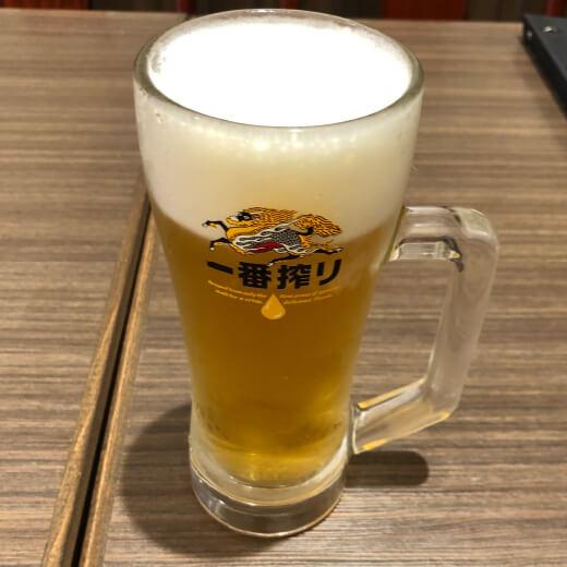 福龍酒家 生ビール