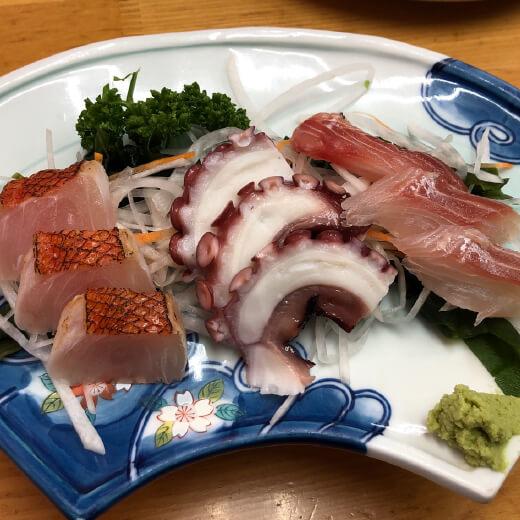 麺恋亭 刺身