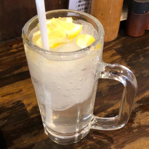 八郎スター酒場 シャリキン生レモンサワー