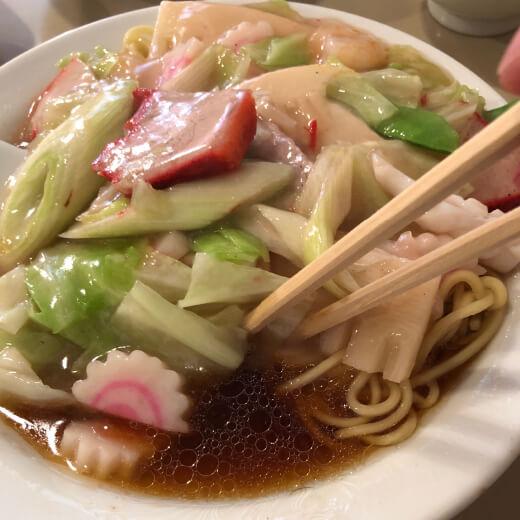 清風楼 バンメンスープ