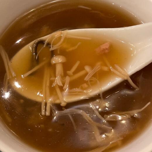 翡翠楼新館 スープ