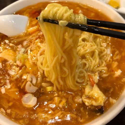 秀味園 麺