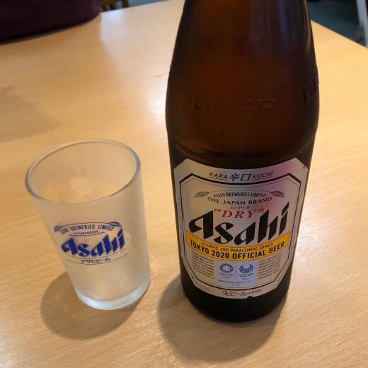 天下一品 瓶ビール