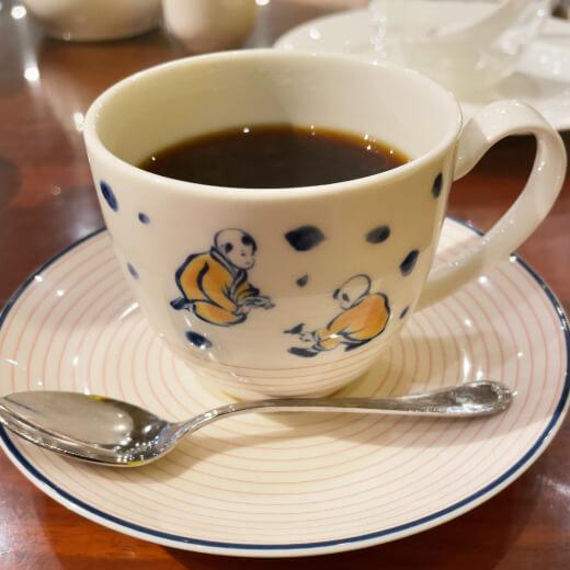 萬珍樓 本店 コーヒー