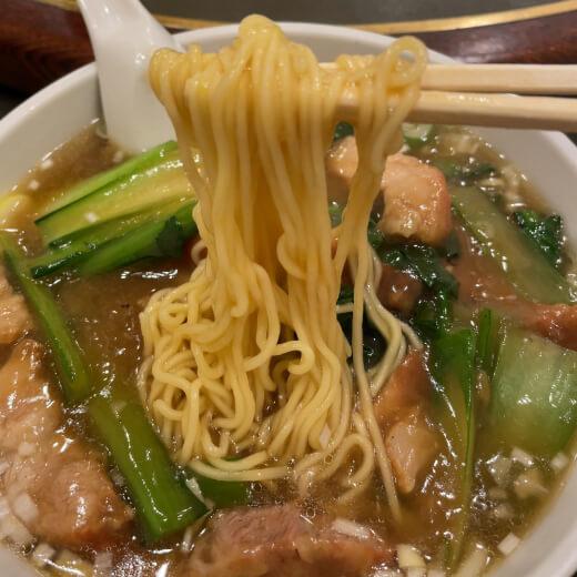 品珍閣 麺