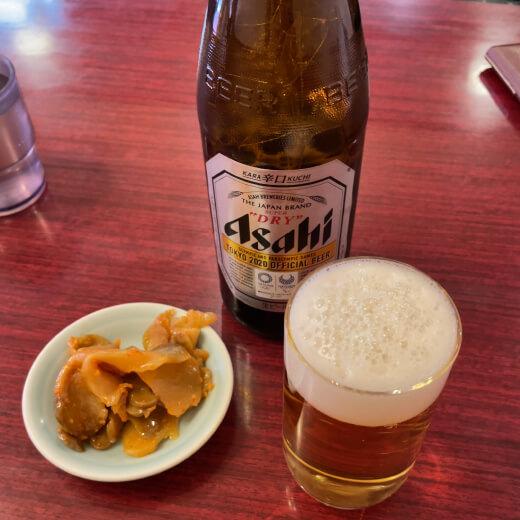 錦珍樓 ビール