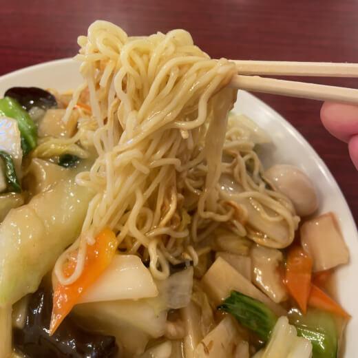 錦珍樓 麺