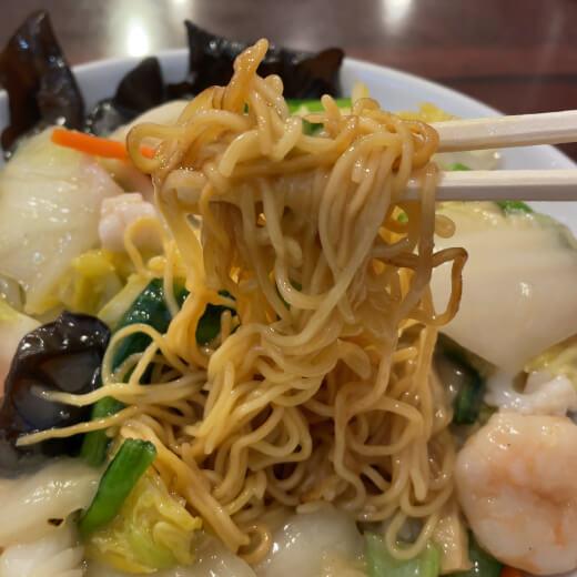 老北京 海鮮焼きそばの麺