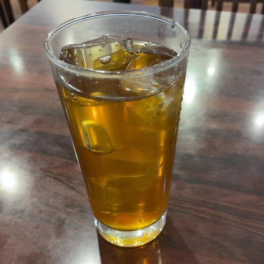 老北京 サービスのウーロン茶