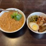 桃源邨 麺線と魯肉飯