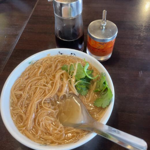 桃源邨 麺線