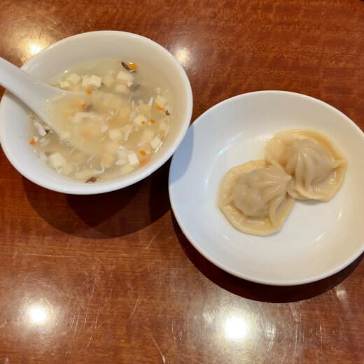 心龍 特典とスープ